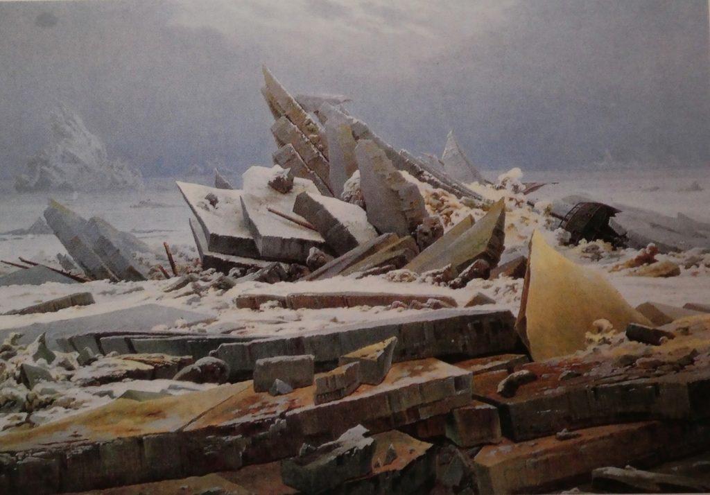 Das Eismeer von Caspar David Friedrich